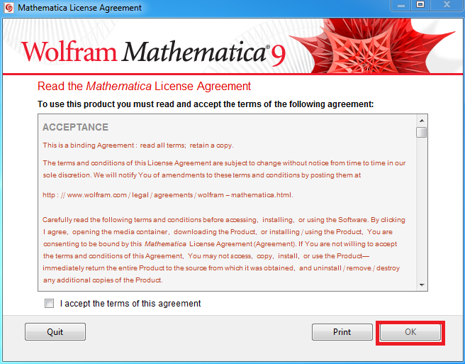 Mathematica 9: Activation Instructions - GROK Knowledge Base