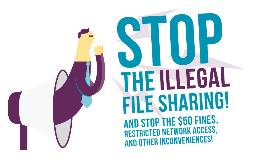 Stop Illegal File Sharing
