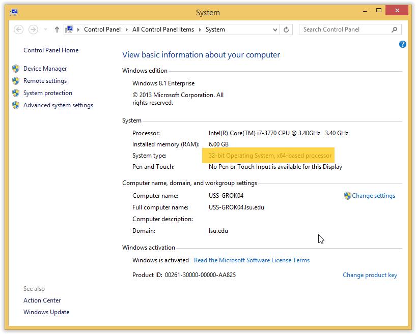 which is better windows 8.1 32 bit or 64 bit