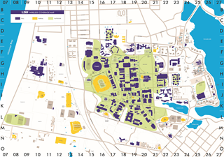 Wireless at LSU: Campus Coverage map