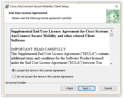 Cisco Terms and license agreement