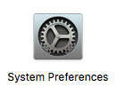 System Preferences application