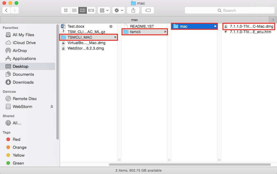 TSM Client 7 1 1: Installation Instructions (Mac) - GROK