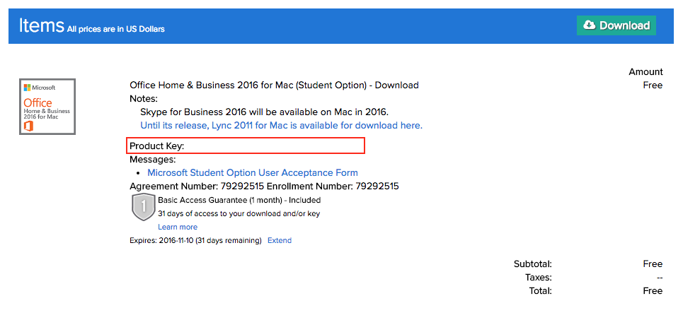 On The Hub Download Install File Retrieve Product Key For Office 2016 Mac Grok Knowledge Base