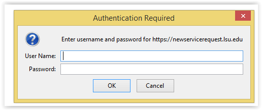 UNI Login Screen with username and password